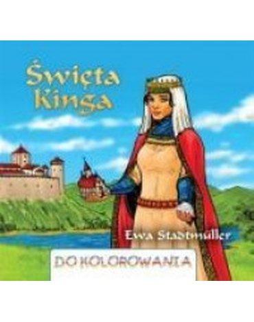 Wydawnictwo Diecezjalne Sandomierz - Święta Kinga - kolorowanka WDS