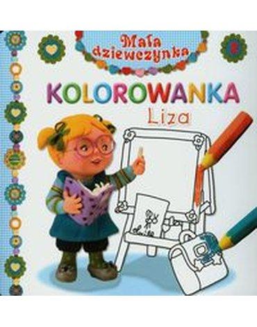 Olesiejuk Sp. z o.o. - Liza Mała dziewczynka Kolorowanka