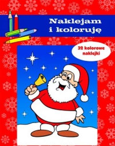 Olesiejuk Sp. z o.o. - Boże Narodzenie. Naklejam i koloruję