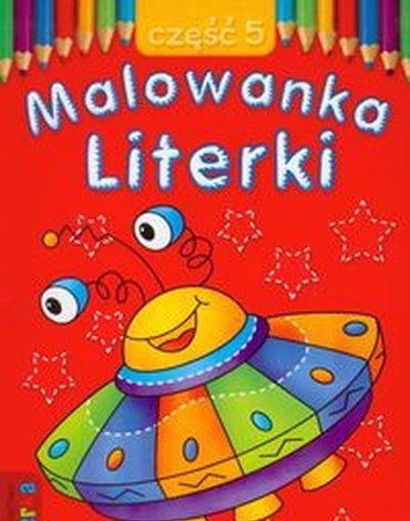 Literka - Malowanka. Literki, część 5