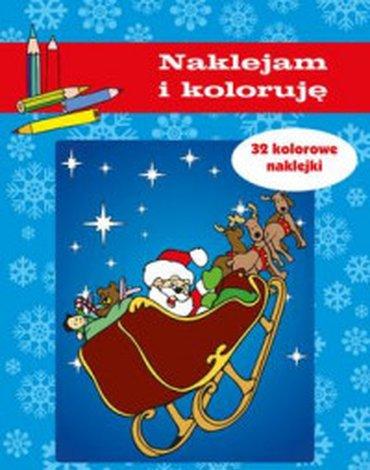 Bellona - Boże Narodzenie. Naklejam i koloruję