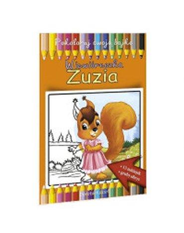 Wydawnictwo Diecezjalne Sandomierz - Wiewióreczka Zuzia. Kolorowanka