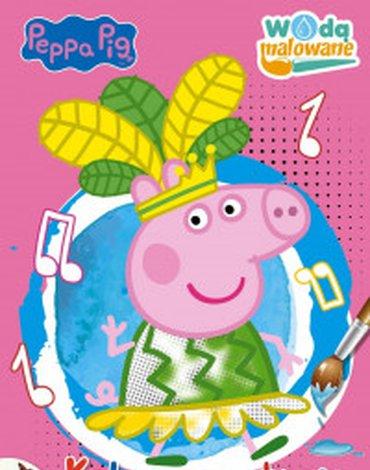 Media Service Zawada - Wodą malowane. Peppa Pig. Kolorowe stroje