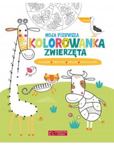 Olesiejuk Sp. z o.o. - Moja pierwsza kolorowanka. Zwierzęta