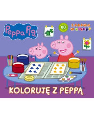 Media Service Zawada - Świnka Peppa. Zabawa w kolory. Koloruję z Peppą