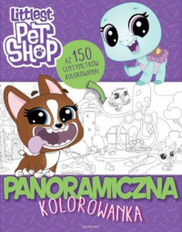 Egmont - Littlest Pet Shop. Panoramiczna kolorowanka