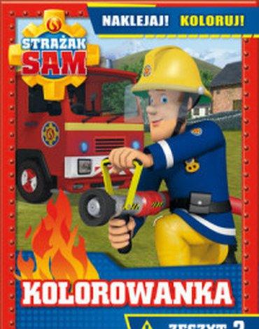 Olesiejuk Sp. z o.o. - Strażak Sam. Kolorowanka Naklejaj! Koloruj! Zeszyt 2