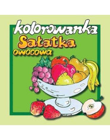 Źródełko - Kolorowanka. Sałatka owocowa