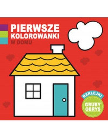 Wilga / GW Foksal - Pierwsze kolorowanki. W domu