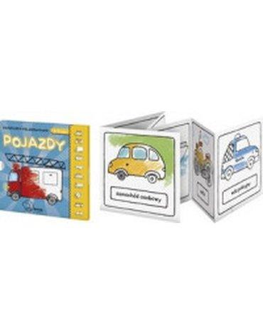 Monumi - Pojazdy. Książeczka-kolorowanka 3-4 lat