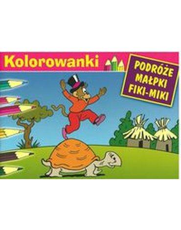 G&P Oficyna Wydawnicza - Kolorowanki (Fiki-Miki i żółw)