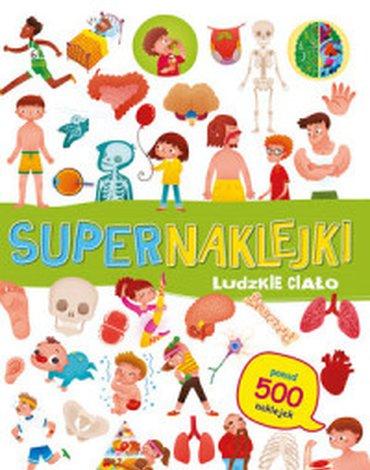 Olesiejuk Sp. z o.o. - Supernaklejki. Ludzkie ciało