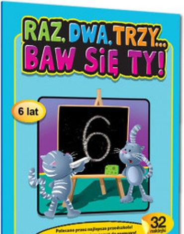 Greg - Raz, dwa, trzy... Baw się ty! (6 lat)