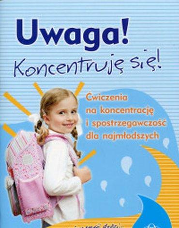 Harmonia - Uwaga! Koncentruję się! Ćwiczenia na koncentrację i spostrzegawczość dla najmłodszych