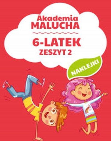 Dragon - Akademia Malucha. 6-latek. Zeszyt 2