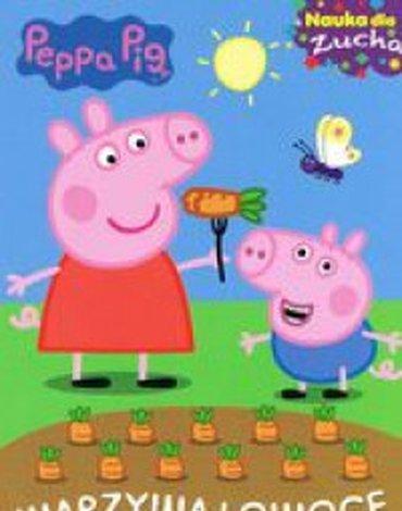 Media Service Zawada - Nauka dla zucha. Peppa Pig. Nr 4. Warzywa i owoce