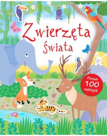 Smart Books - Poznaję świat. Zwierzęta świata + naklejki