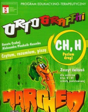 Operon - Ortograffiti. Czytam, rozumiem, piszę. CH, H. Klasa 5-6. Zeszyt ćwiczeń. Część 2