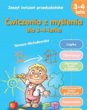Siedmioróg - Ćwiczenia z myślenia dla 3-4-latka