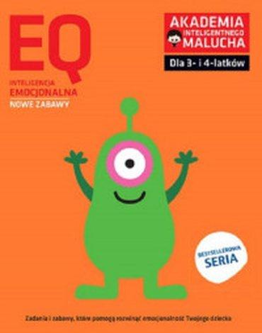 Akademia Inteligentnego Malucha - AIM-EQ. Inteligencja emocjonalna. 3–4 lata. Nowe zabawy