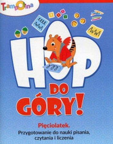 Wydawnictwo Szkolne PWN - Trampolina. Hop do góry! Pięciolatek. Przygotowanie do nauki pisania, czytania i liczenia