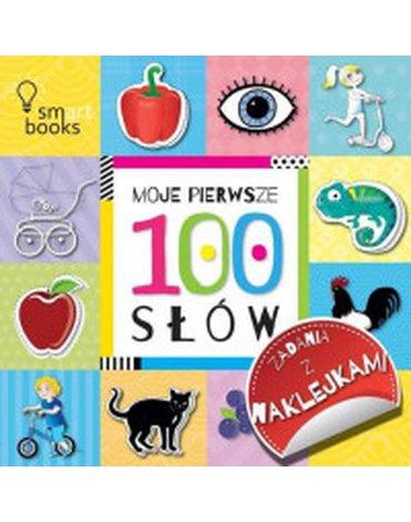 Smart Books - Moje pierwsze 100 słów. Zadania z naklejkami