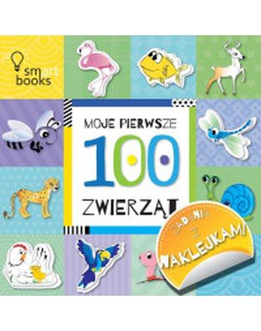 Smart Books - Moje pierwsze 100 zwierząt. Zadania z naklejkami