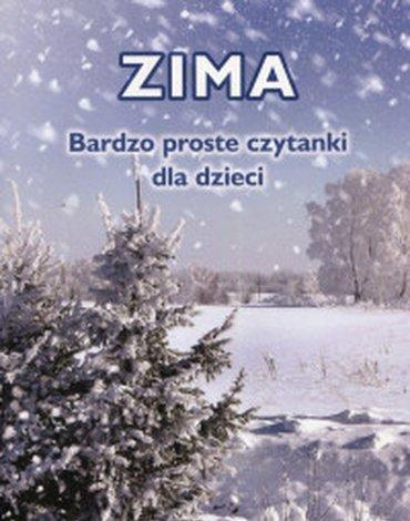 Harmonia - Zima. Bardzo proste czytanki dla dzieci