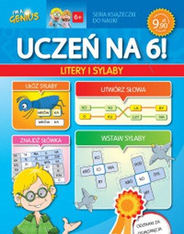 Lisciani - Uczeń na 6. Litery i sylaby