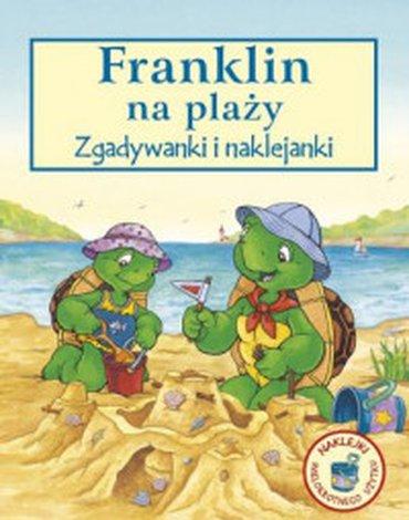 Wydawnictwo Debit - Franklin na plaży. Zgadywanki i naklejki
