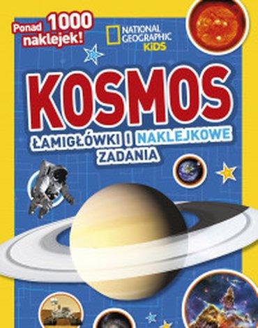 Olesiejuk Sp. z o.o. - National Geographic Kids. Kosmos. Łamigłówki i naklejkowe zadania