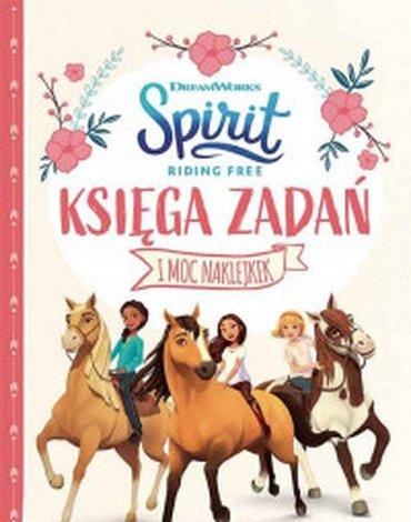 Egmont - Księga zadań. Spirit Riding Free
