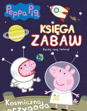 Media Service Zawada - Świnka Peppa. Księga zabaw. Kosmiczna przygoda