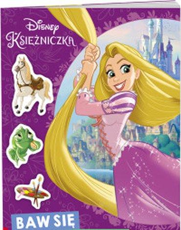 Ameet - Disney Księżniczka. Baw się naklejkami