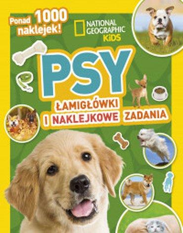Olesiejuk Sp. z o.o. - National Geographic Kids. Psy. Łamigłówki i naklejkowe zadania