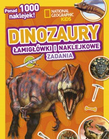 Olesiejuk Sp. z o.o. - National Geographic Kids. Dinozaury. Łamigłówki i naklejkowe zadania