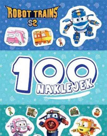 Egmont - Robot Trains. 100 naklejek