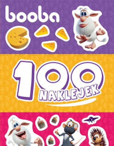 Egmont - Booba. 100 naklejek