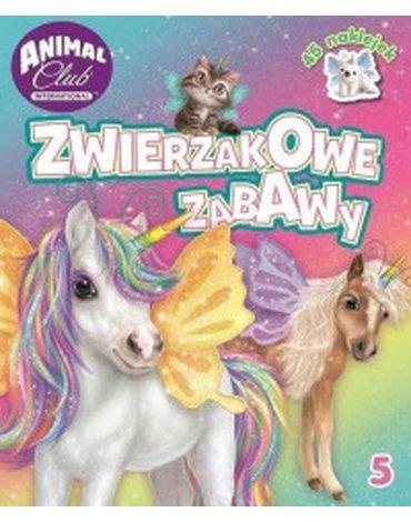 Media Service Zawada - Animal Club. Zwierzakowe zabawy, nr 5
