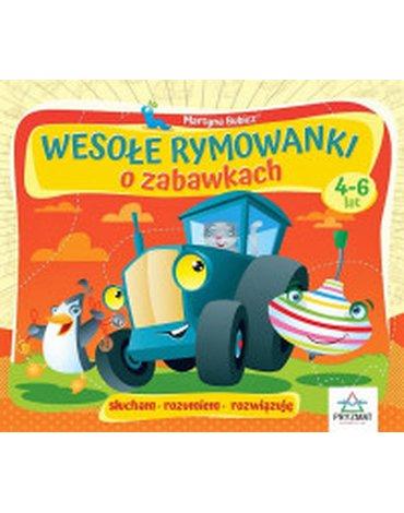 Wydawnictwo Pryzmat - Wesołe rymowanki o zabawkach, 4-6 lat