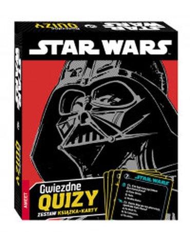 Ameet - Star Wars. Gwiezdne quizy. Zestaw książka + karty