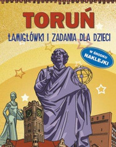 Literat - Toruń. Łamigłówki i zadania dla dzieci, wydanie 2018