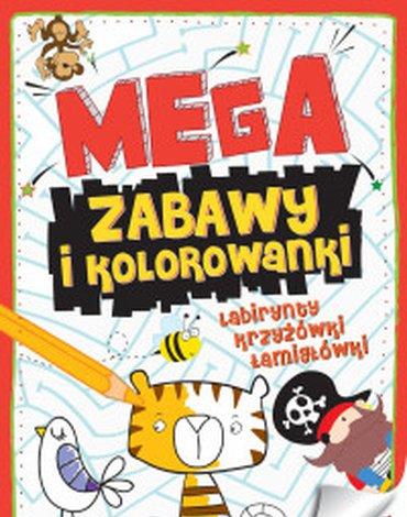 Zielona Sowa - Megazabawy i kolorowanki. Zeszyt 2