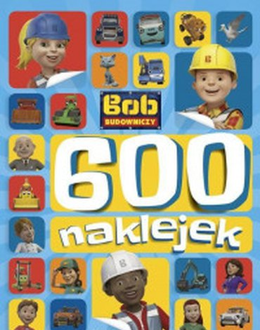 Egmont - Bob Budowniczy. 600 naklejek