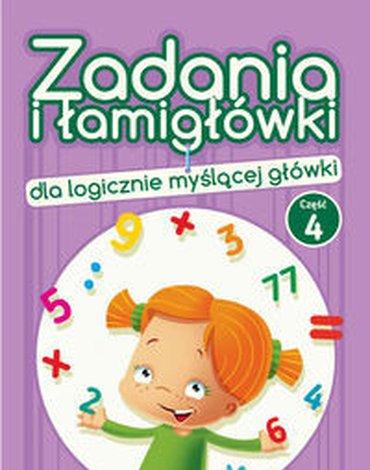 Wydawnictwo Pryzmat - Zadania i łamigłówki dla logicznie myślącej główki. Część 4