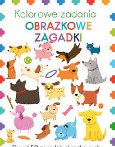 Olesiejuk Sp. z o.o. - Kolorowe zadania. Obrazkowe zagadki