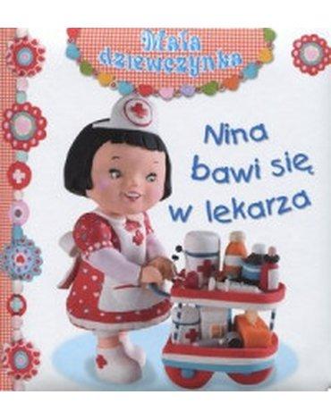 Olesiejuk Sp. z o.o. - Nina bawi się w lekarza. Mała dziewczynka