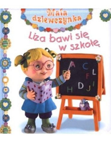 Olesiejuk Sp. z o.o. - Liza bawi się w szkołę. Mała dziewczynka