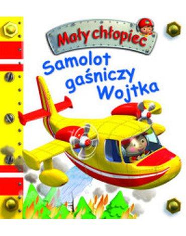 Olesiejuk Sp. z o.o. - Mały chłopiec. Samolot gaśniczy Wojtka