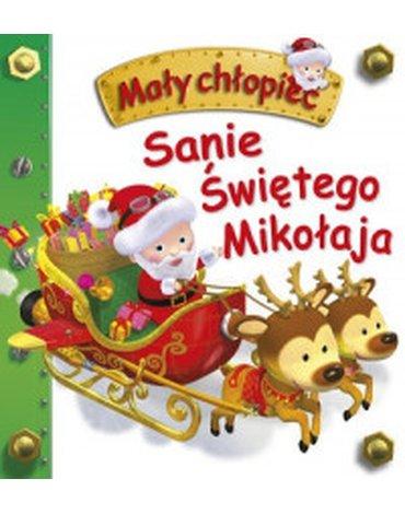 Olesiejuk Sp. z o.o. - Mały chłopiec. Sanie Świętego Mikołaja